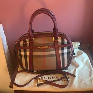 Authentic Burberry Handle and crossbody bag